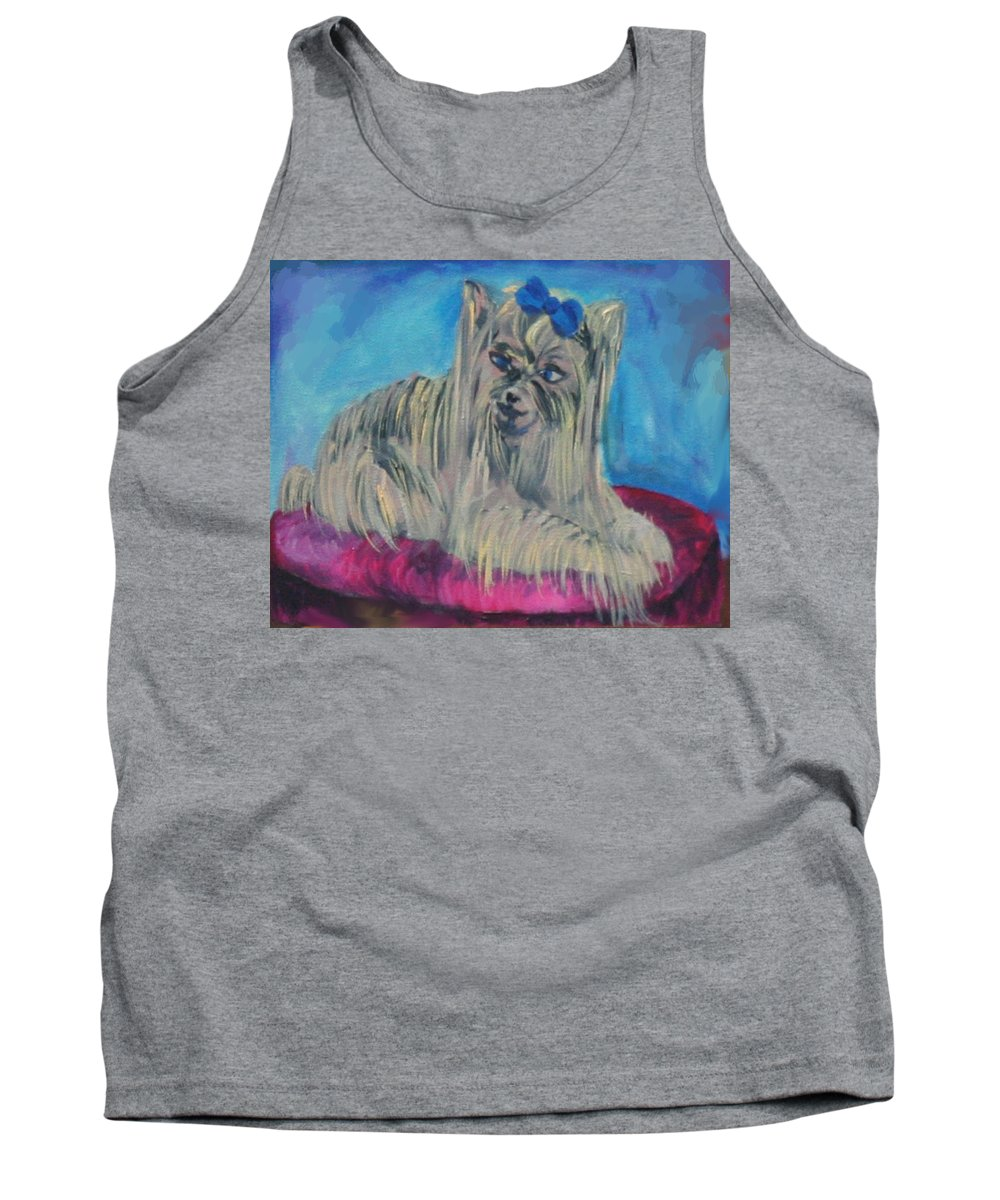 Lap Of Luxury Tank Top featuring the painting Lap Of Luxury by Gail Daley