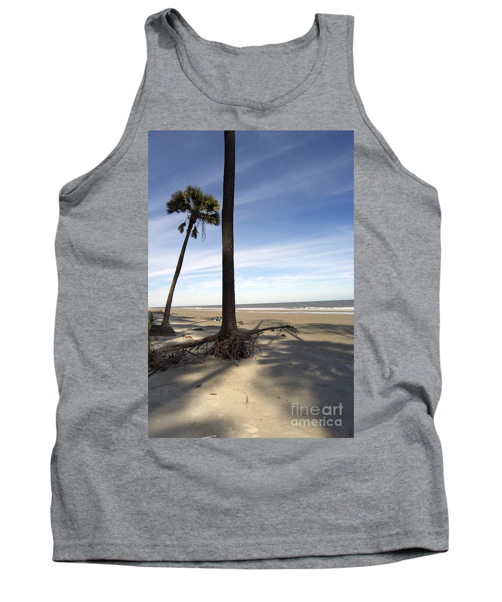 Nature Tank Top featuring the photograph Last Pine Standing by Skip Willits
