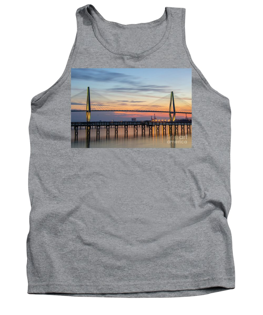Sunset Tank Top featuring the photograph Lasting Impressions by Dale Powell