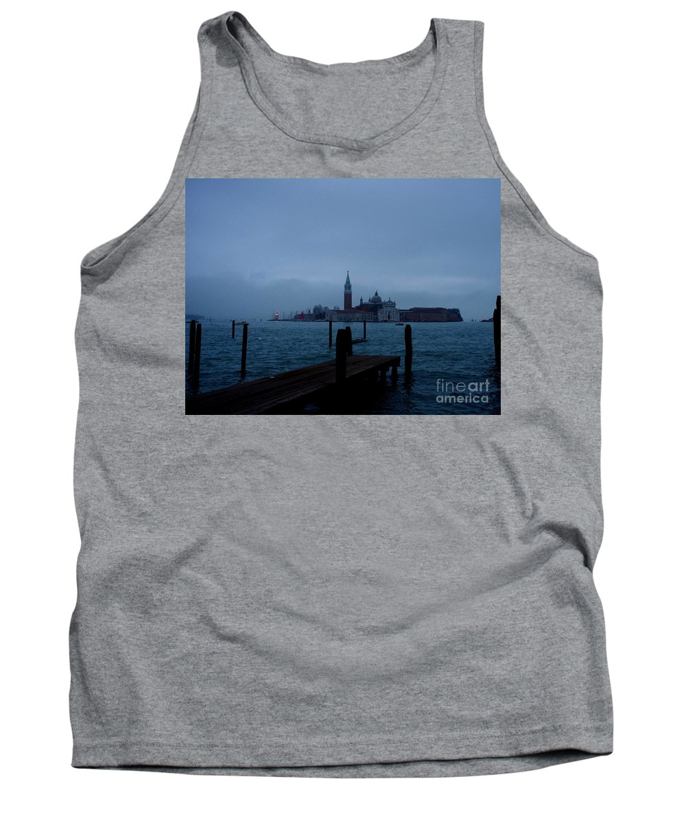 View From Venice Italy Tank Top featuring the photograph Late Evening In Venice by Kitrina Arbuckle