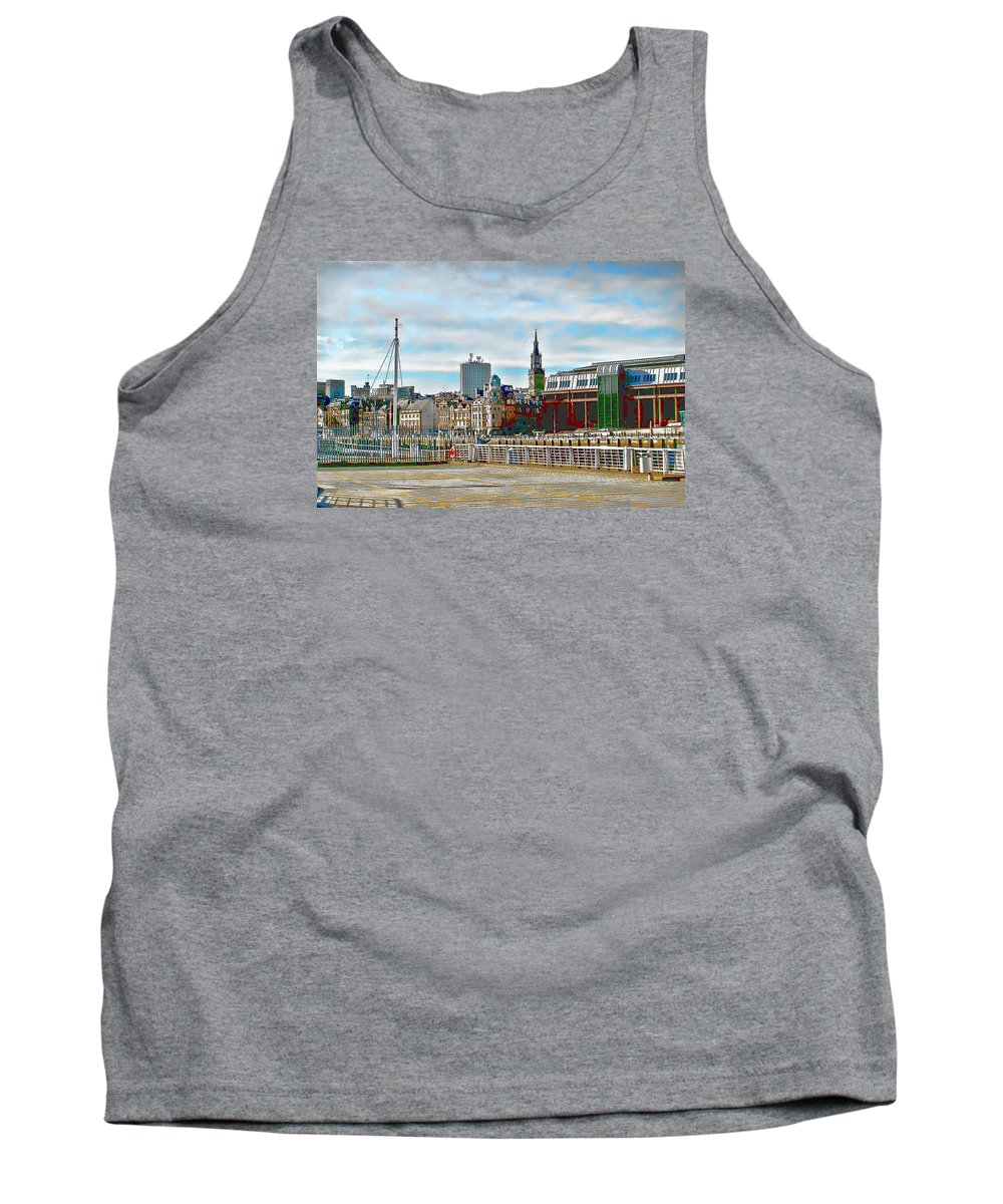 Law Court Tank Top featuring the photograph Law Courts Newcastle Upon Tyne by John Lynch