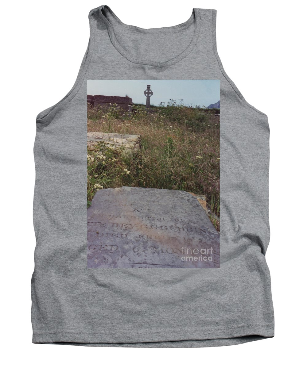 Ireland Tank Top featuring the photograph Lay In Forgotten Fields by First Star Art