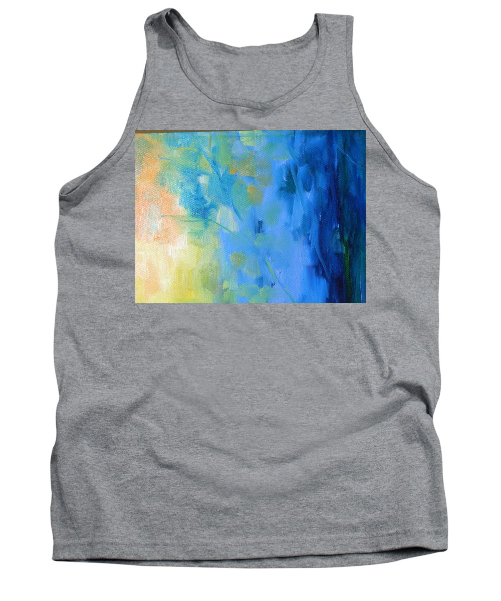 Water Tank Top featuring the painting Leaves by Lord Frederick Lyle Morris