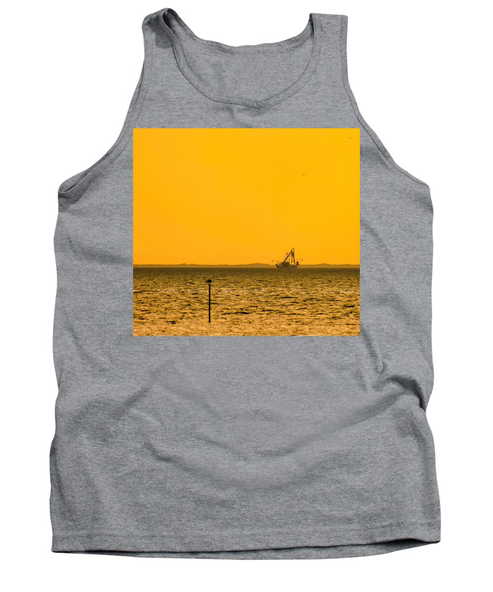 Lemon Tank Top featuring the photograph Lemon Fisher by Paula OMalley