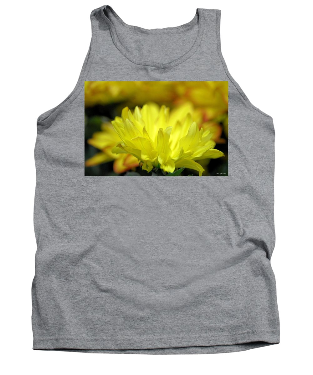 Lemon Whispers Tank Top featuring the photograph Lemon Whispers by Maria Urso