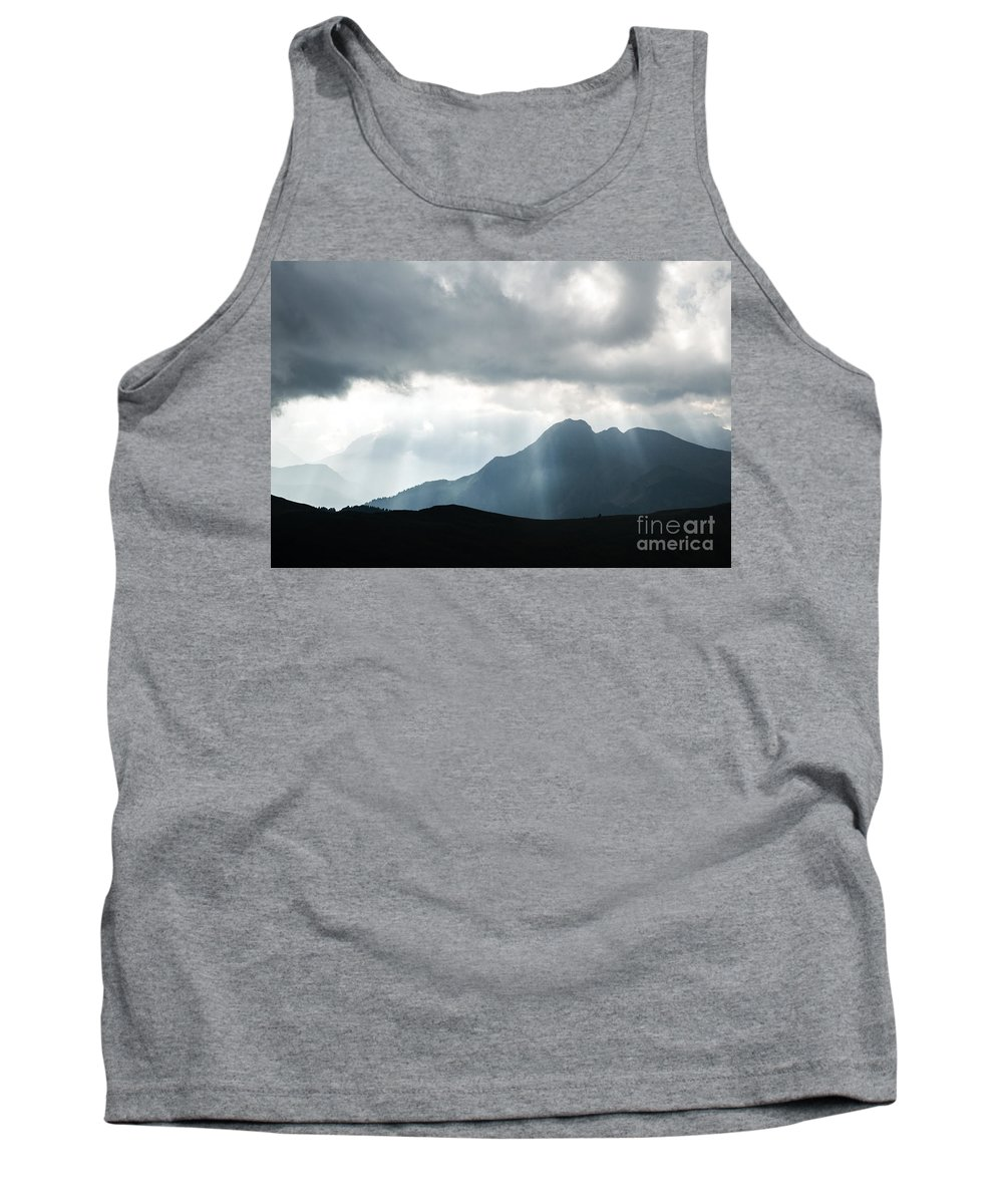 Light Tank Top featuring the photograph Light Show by Matteo Colombo