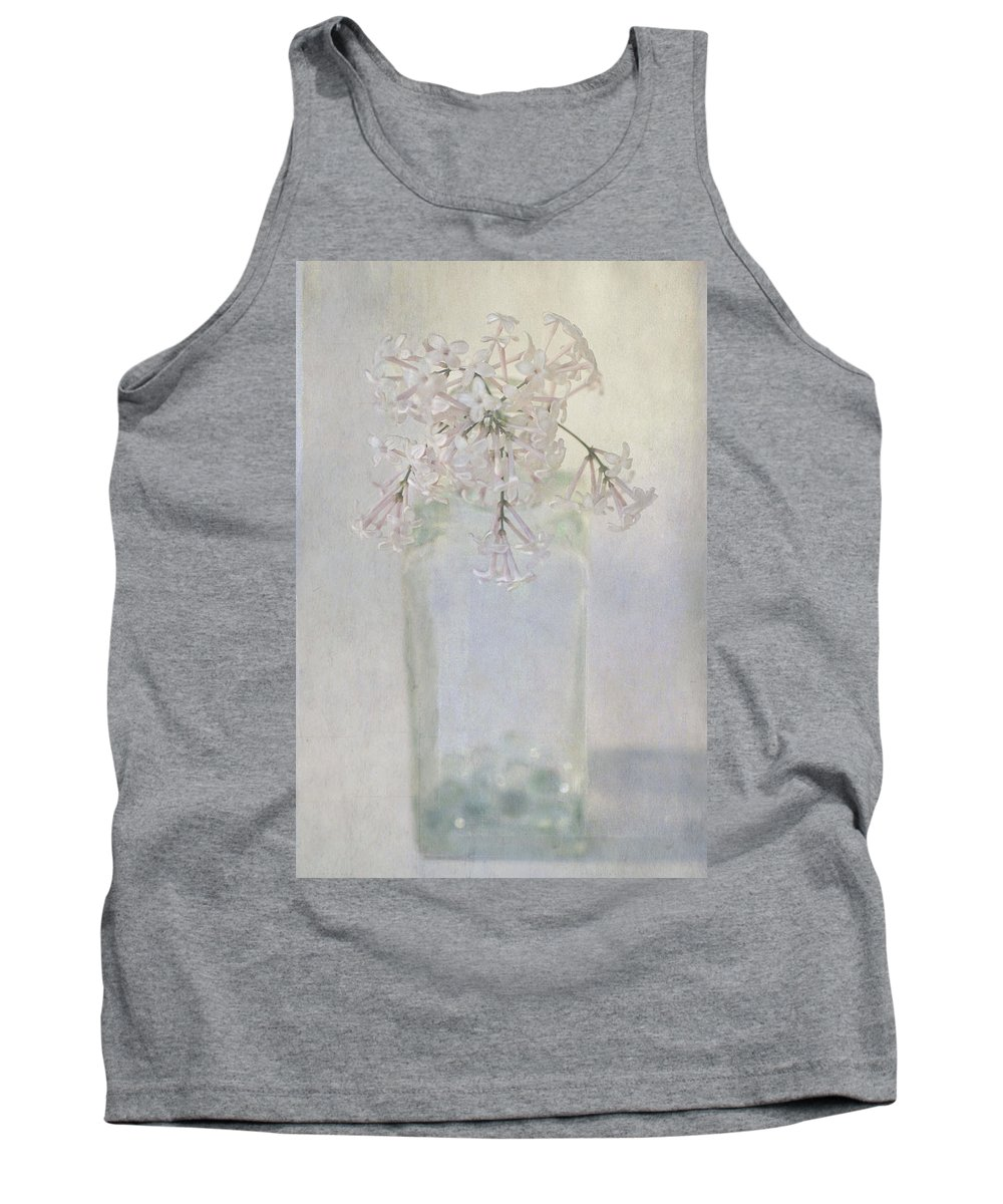 Lilac Tank Top featuring the photograph Lilac Flower by Annie Snel