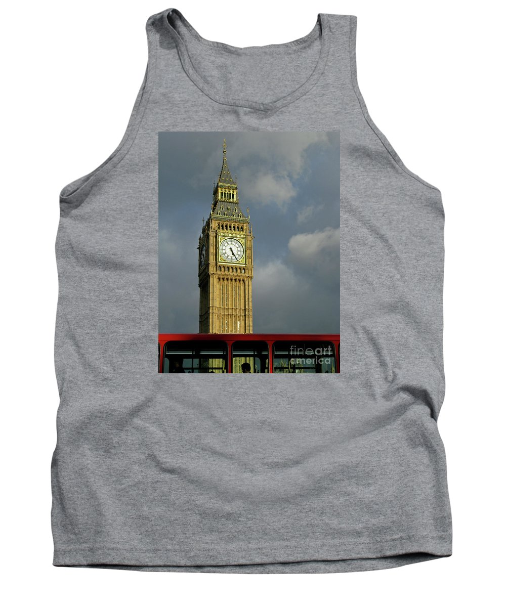 London Icons By Ann Horn Tank Top featuring the photograph London Icons by Ann Horn