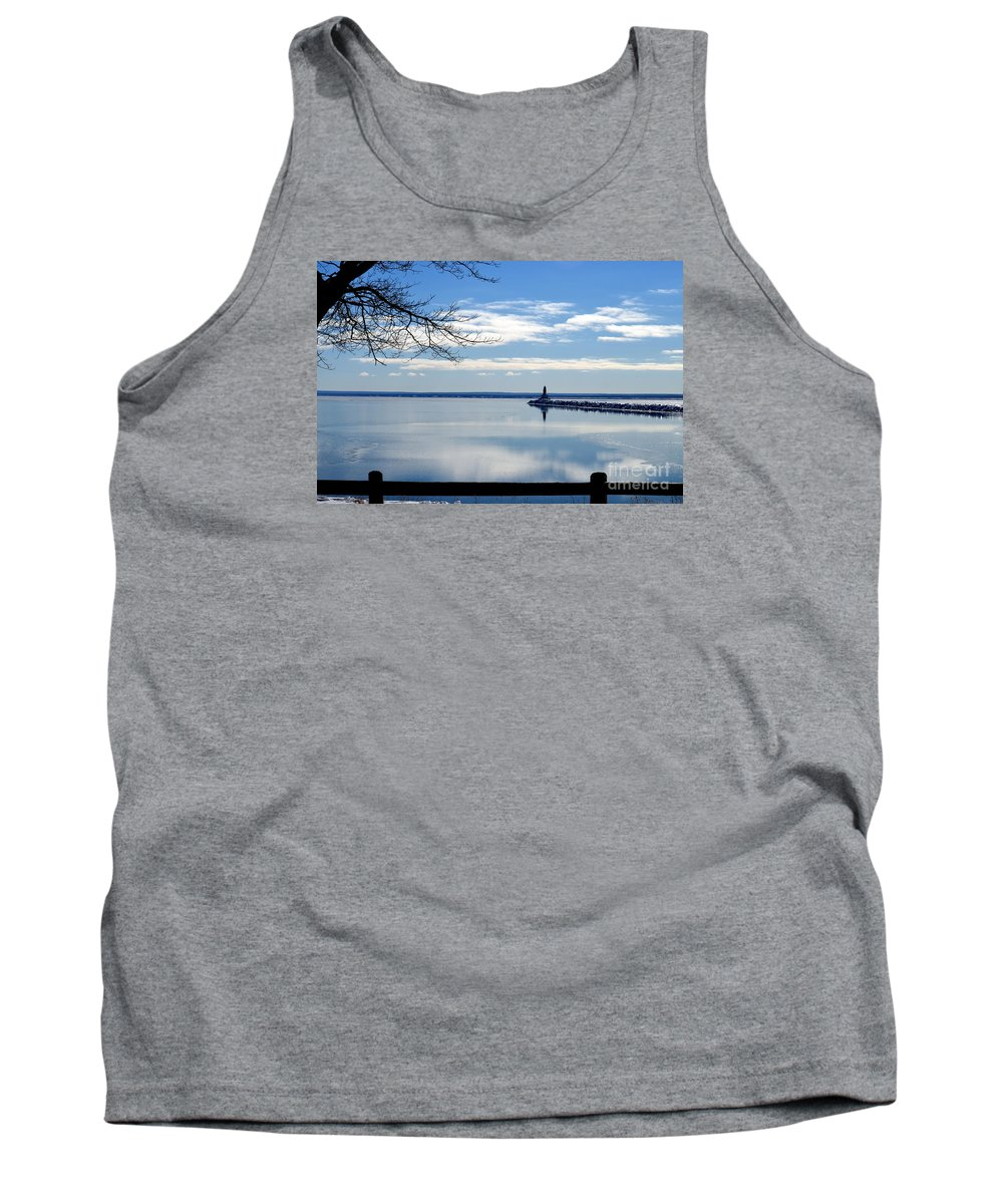 Lake Tank Top featuring the photograph Looking Glass by Jaunine Roberts