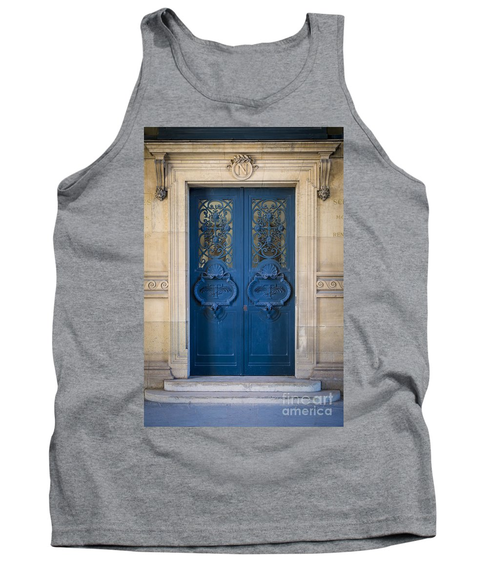 Architectural Tank Top featuring the photograph Louvre Doorway - Paris by Brian Jannsen