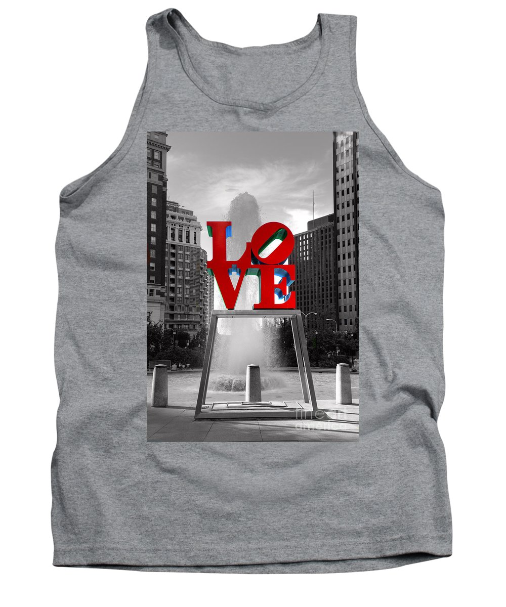 Paul Ward Tank Top featuring the photograph Love Isn't Always Black And White by Paul Ward