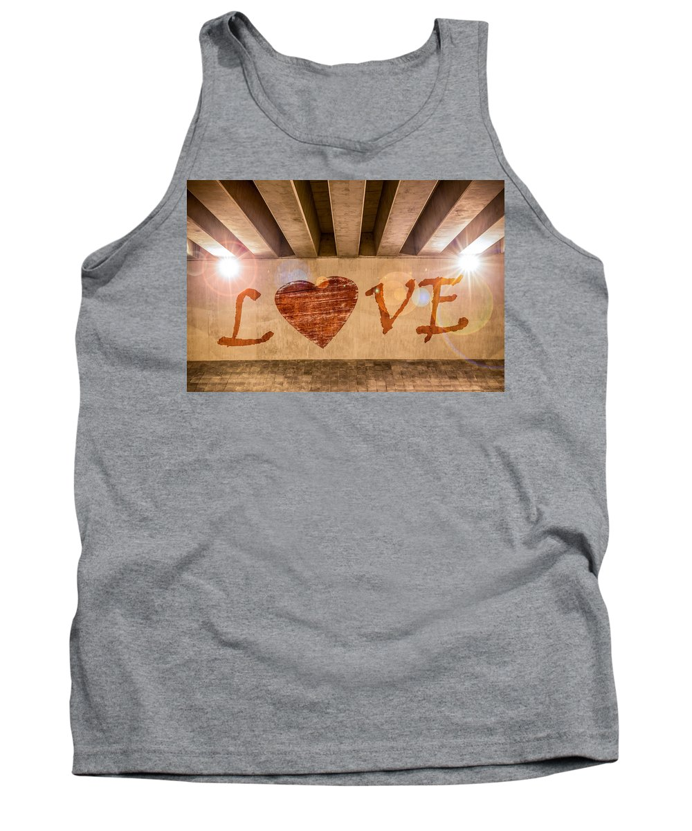 Art Tank Top featuring the photograph Love by Semmick Photo