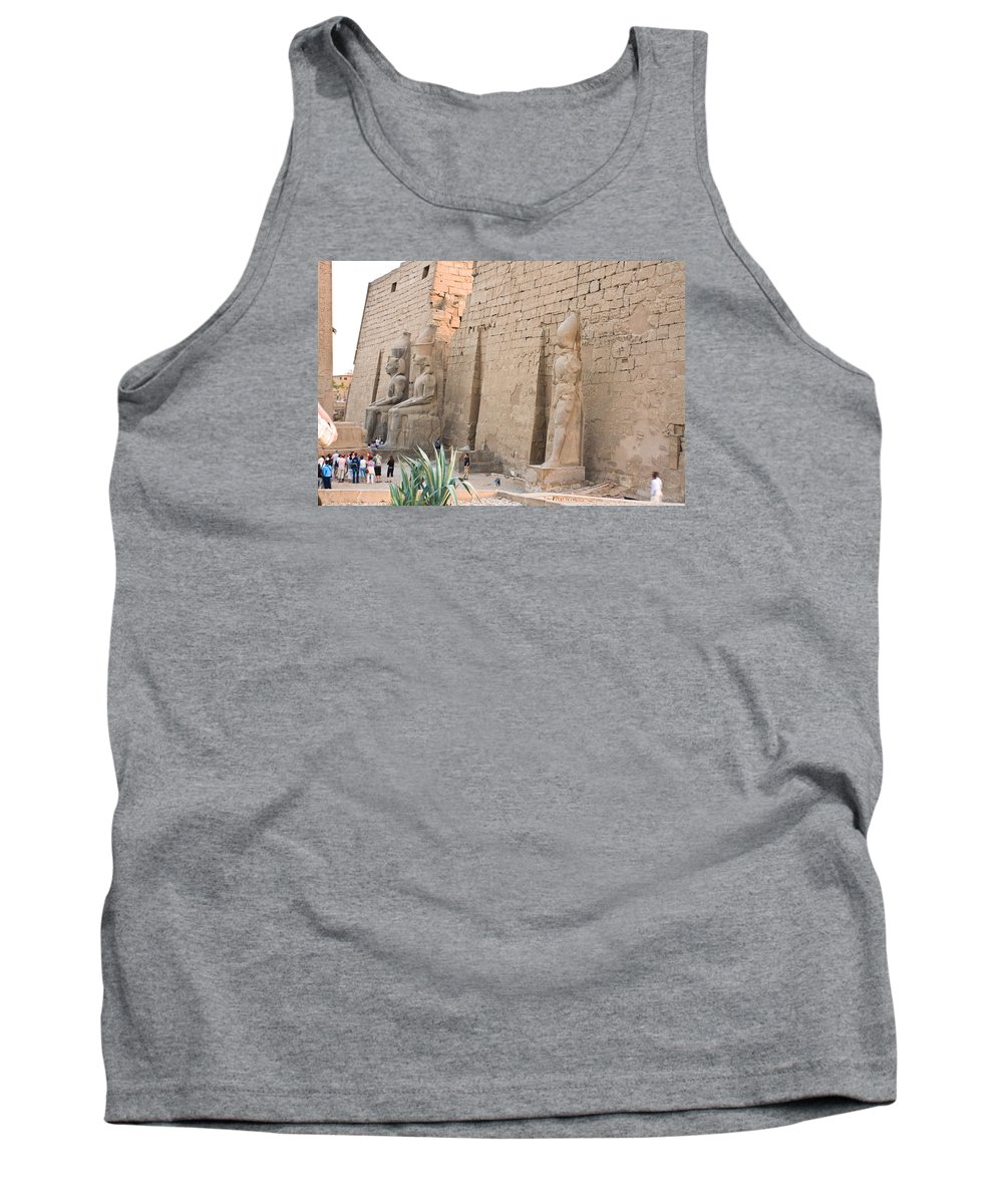 Tank Top featuring the photograph Luxor Temple by James Gay