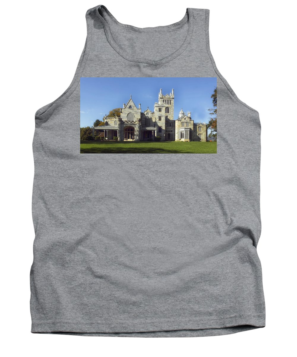 Lyndhurst Estate Tank Top featuring the photograph Lyndhurst Estate - Tarrytown New York by Mountain Dreams