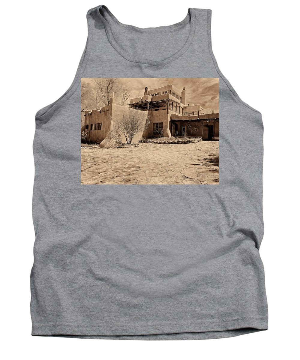 Mabel Tank Top featuring the photograph Mabel's Place In Platinum by Charles Muhle