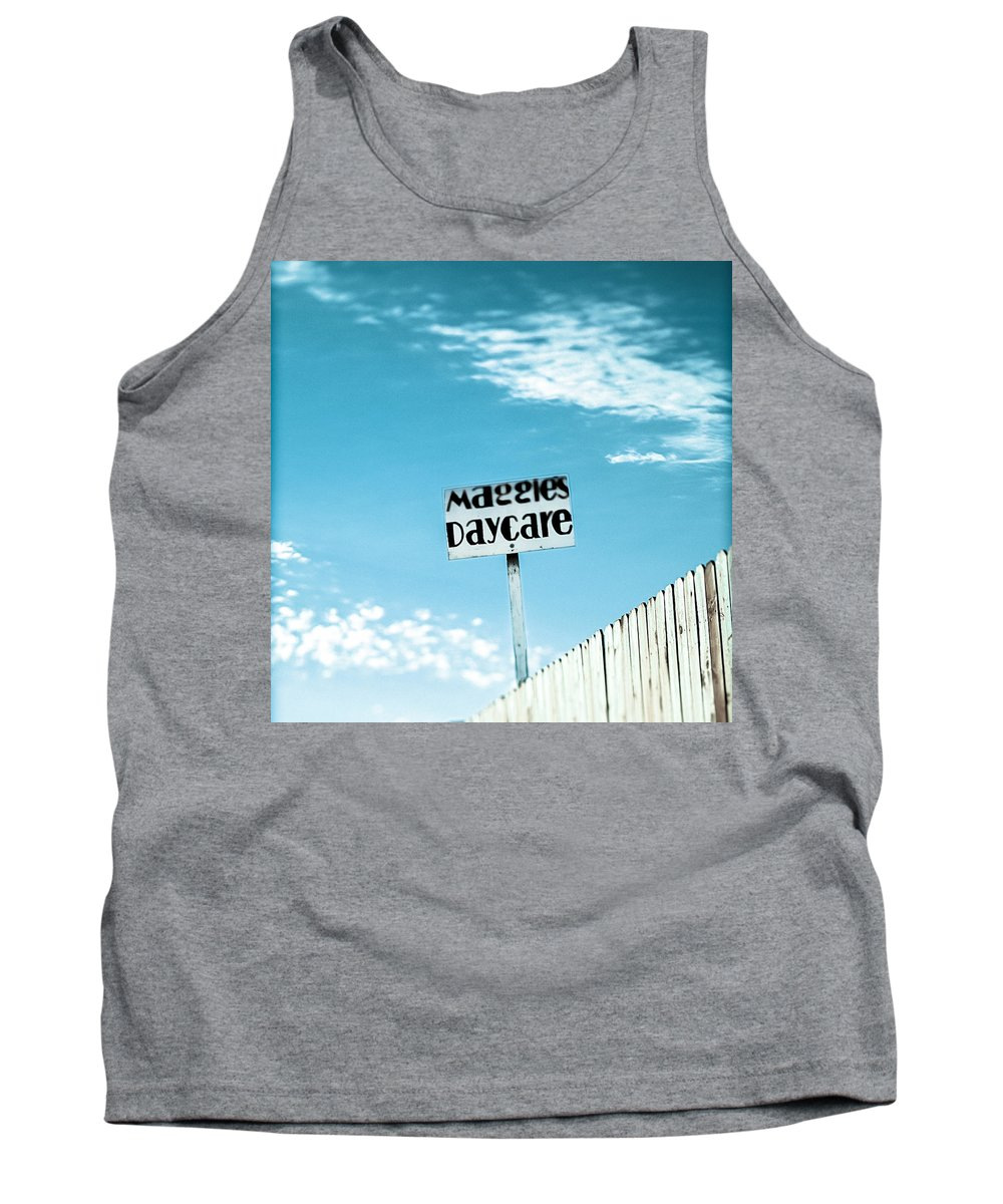Business Tank Top featuring the photograph Maggie's Daycare by Yo Pedro