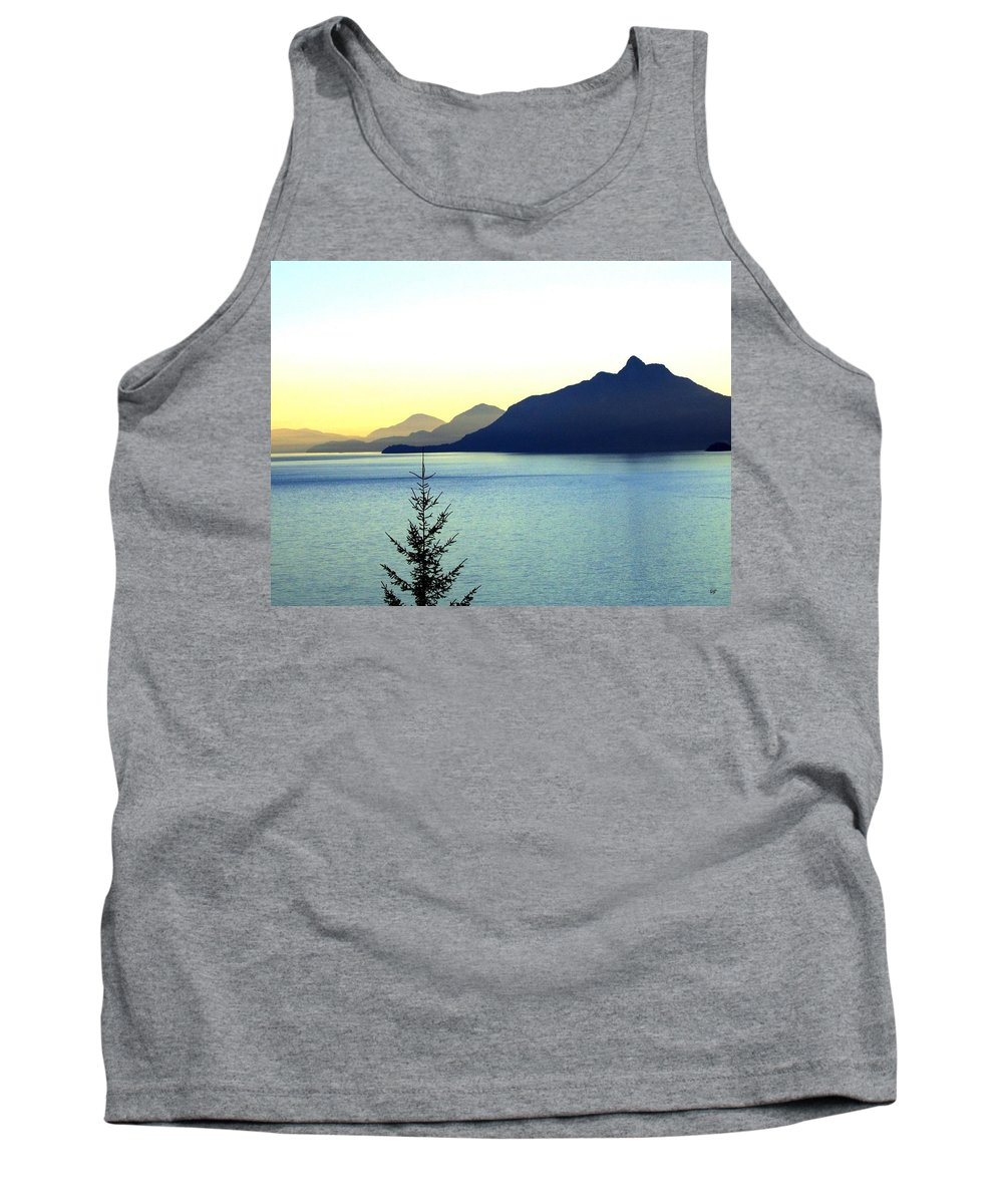 Vancouver Tank Top featuring the photograph Magnificent Howe Sound by Will Borden