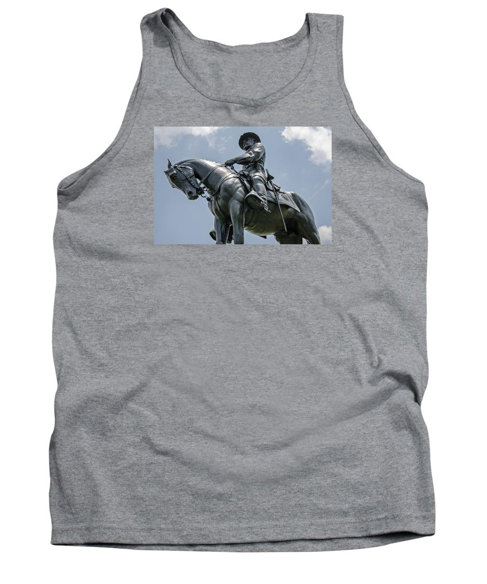 Major-general Oliver Howard Tank Top featuring the photograph Major-general Oliver Howard by Susan McMenamin