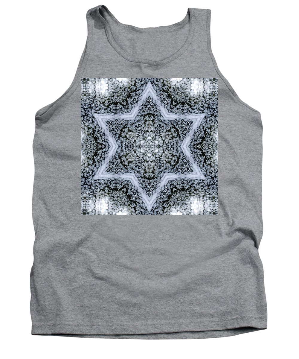 Tank Top featuring the photograph Mandala95 by Lee Santa