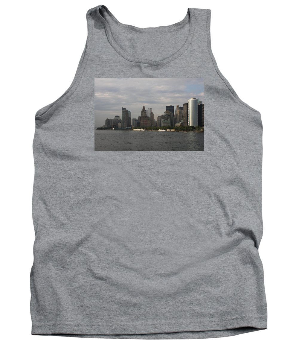 New York City Tank Top featuring the photograph Manhattan Skyline 2010 by Christiane Schulze Art And Photography
