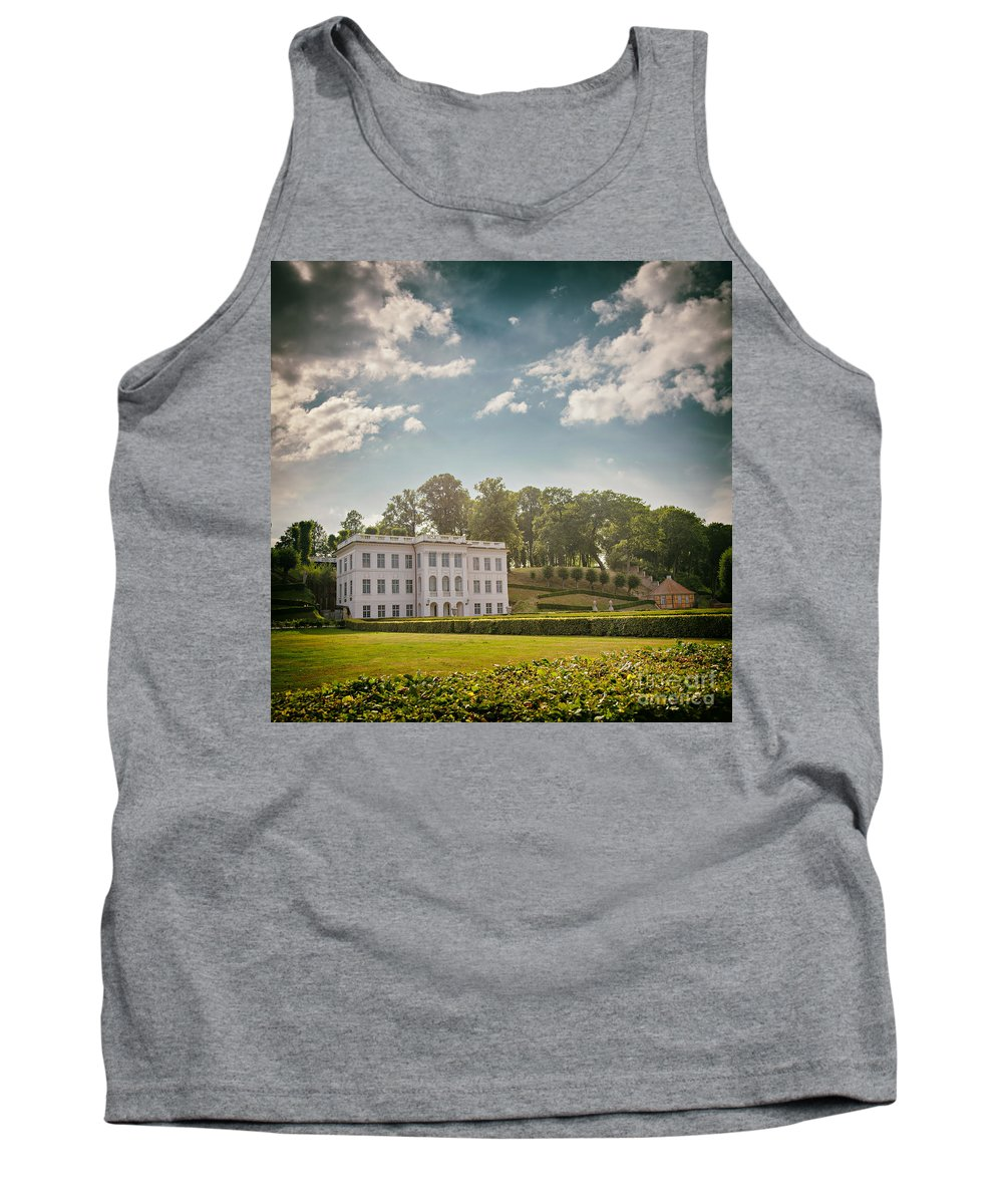 Marienlyst Tank Top featuring the photograph Marienlyst Pavilion by Sophie McAulay