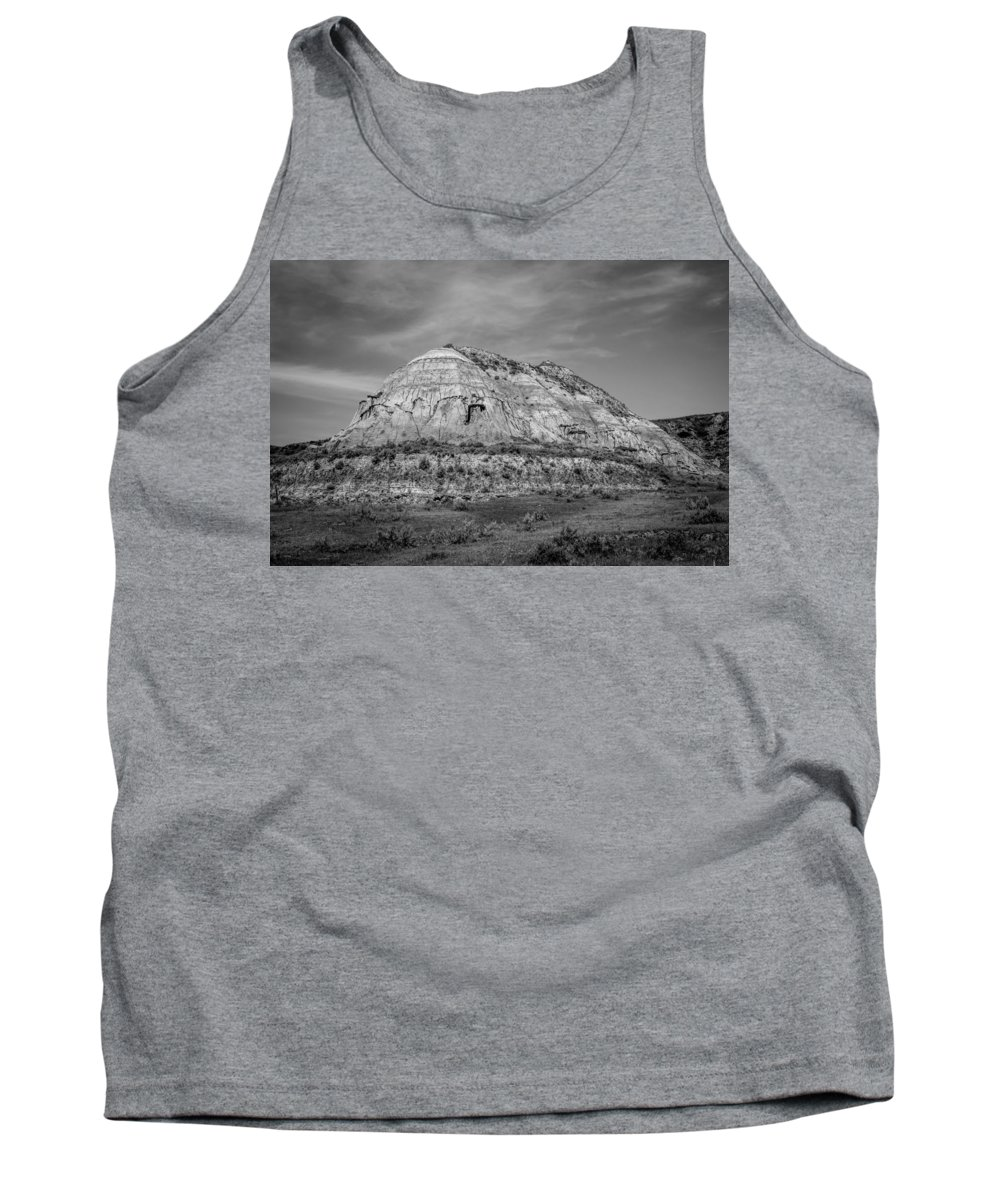 Badlands Tank Top featuring the photograph Medora 20 by Chad Rowe