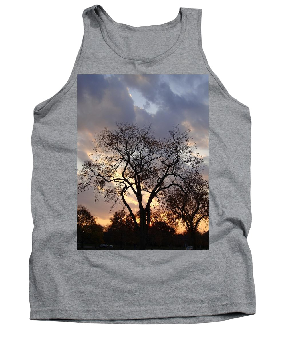 Clouds Tank Top featuring the photograph Michigan Drama by Joseph Yarbrough