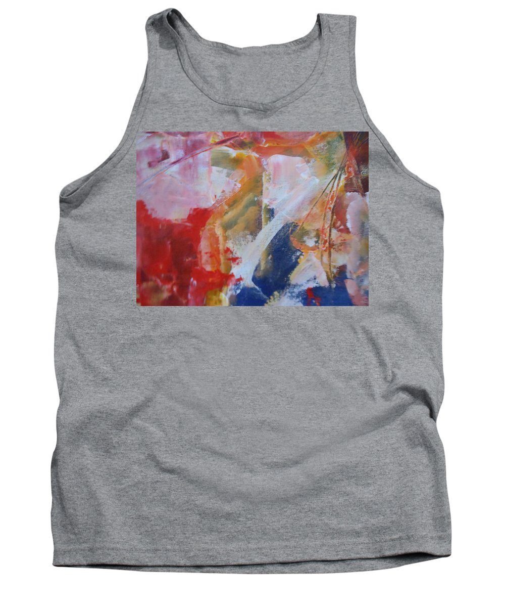 Abstract Tank Top featuring the painting Moments by Lord Frederick Lyle Morris