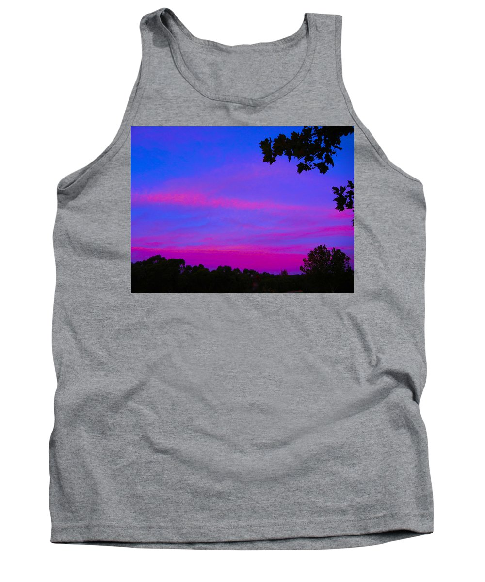 Dawn Tank Top featuring the photograph Morning Dreams by Mark Blauhoefer