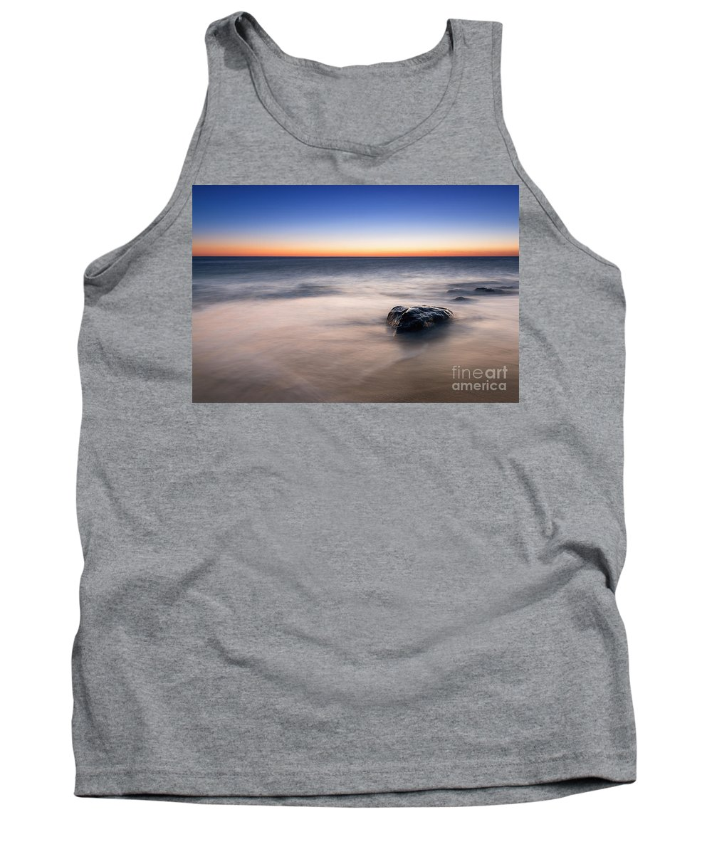 Sandy Hook Tank Top featuring the photograph Morning Light by Michael Ver Sprill