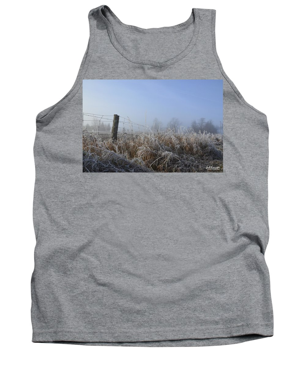 Mist Tank Top featuring the photograph Morning Mist by Urbanmoon Photography