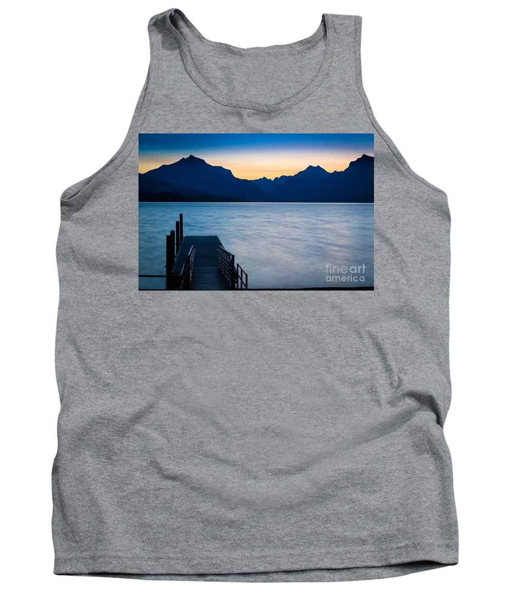America Tank Top featuring the photograph Morning Stillness by Inge Johnsson