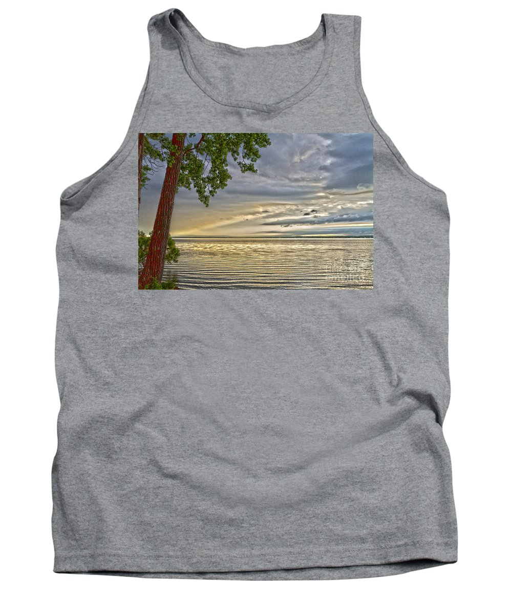 Morning Tank Top featuring the photograph Morning Storm by William Norton