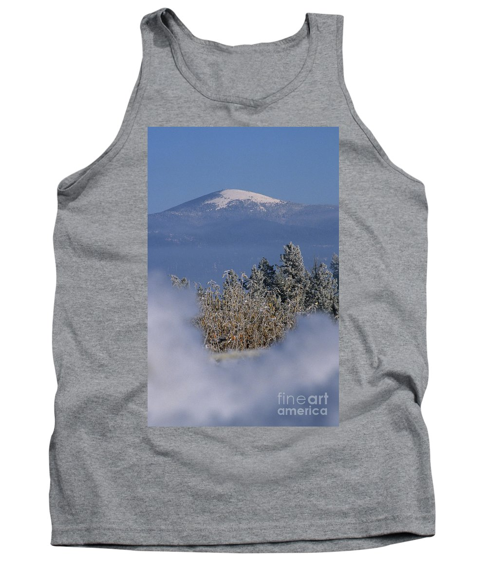 Spokane Tank Top featuring the photograph Mount Spokane by Sharon Elliott