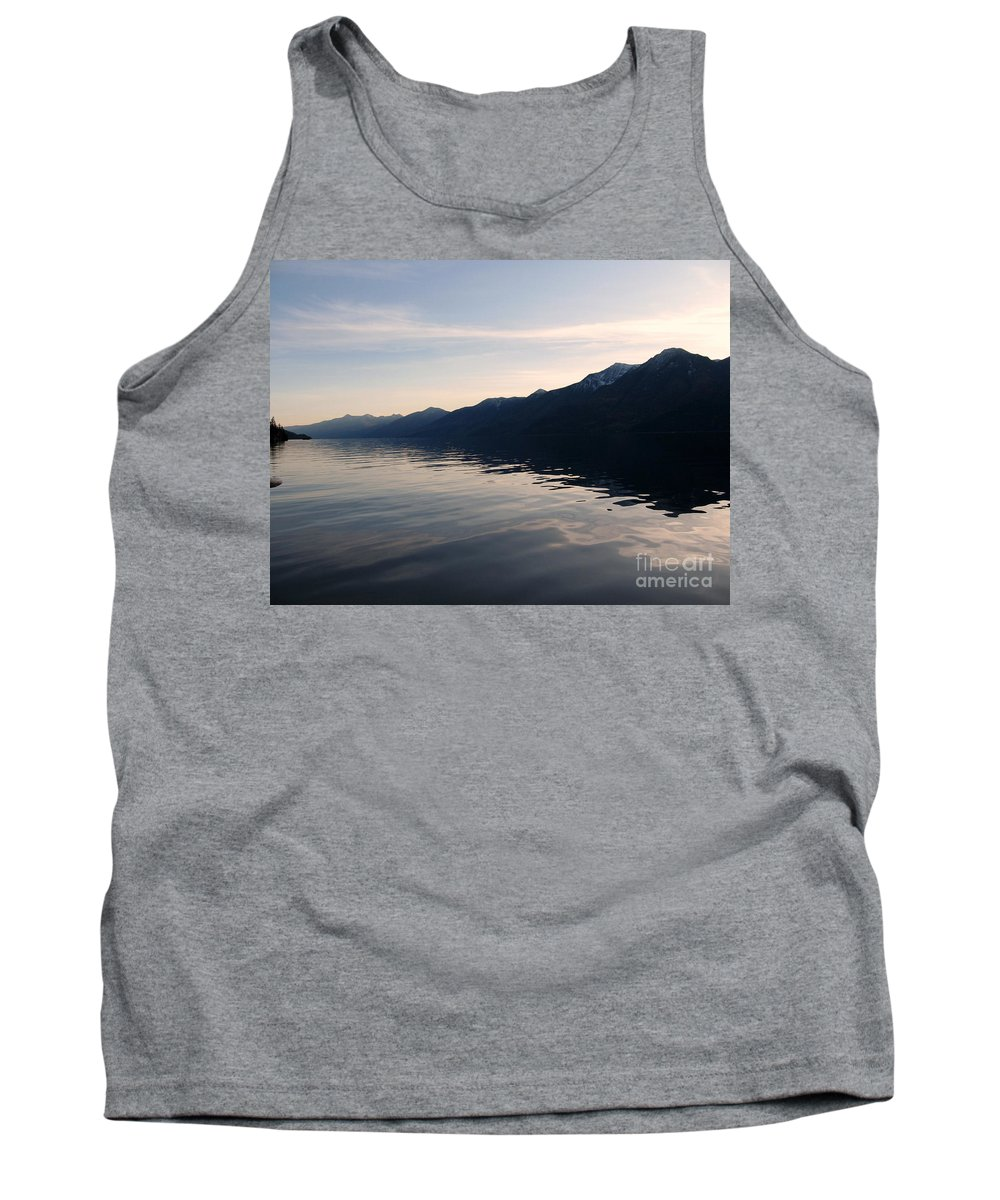 Selkirk Tank Top featuring the photograph Mountains At Sunset by Leone Lund