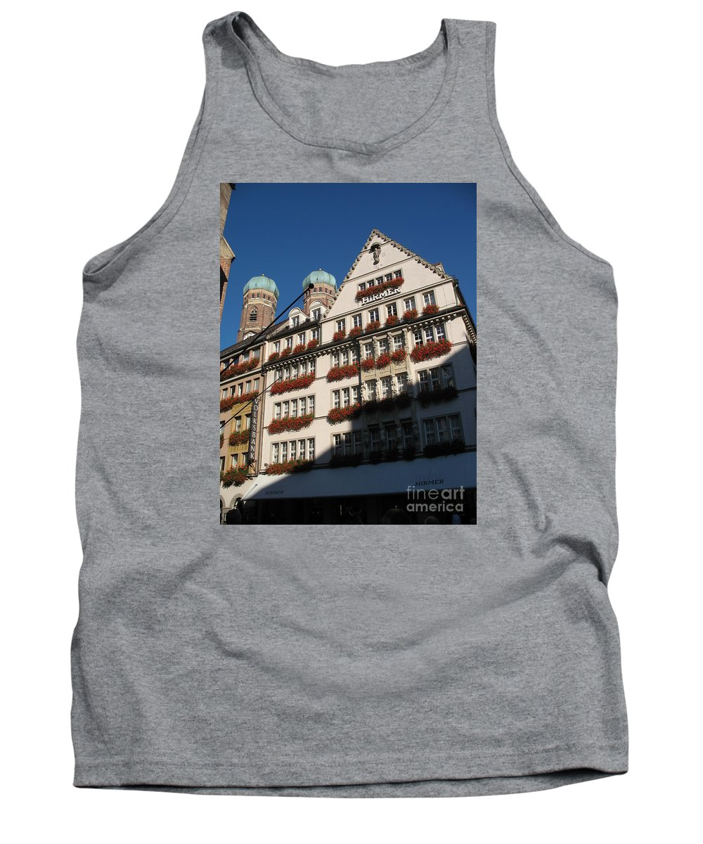 City Tank Top featuring the photograph Munich City by Christiane Schulze Art And Photography