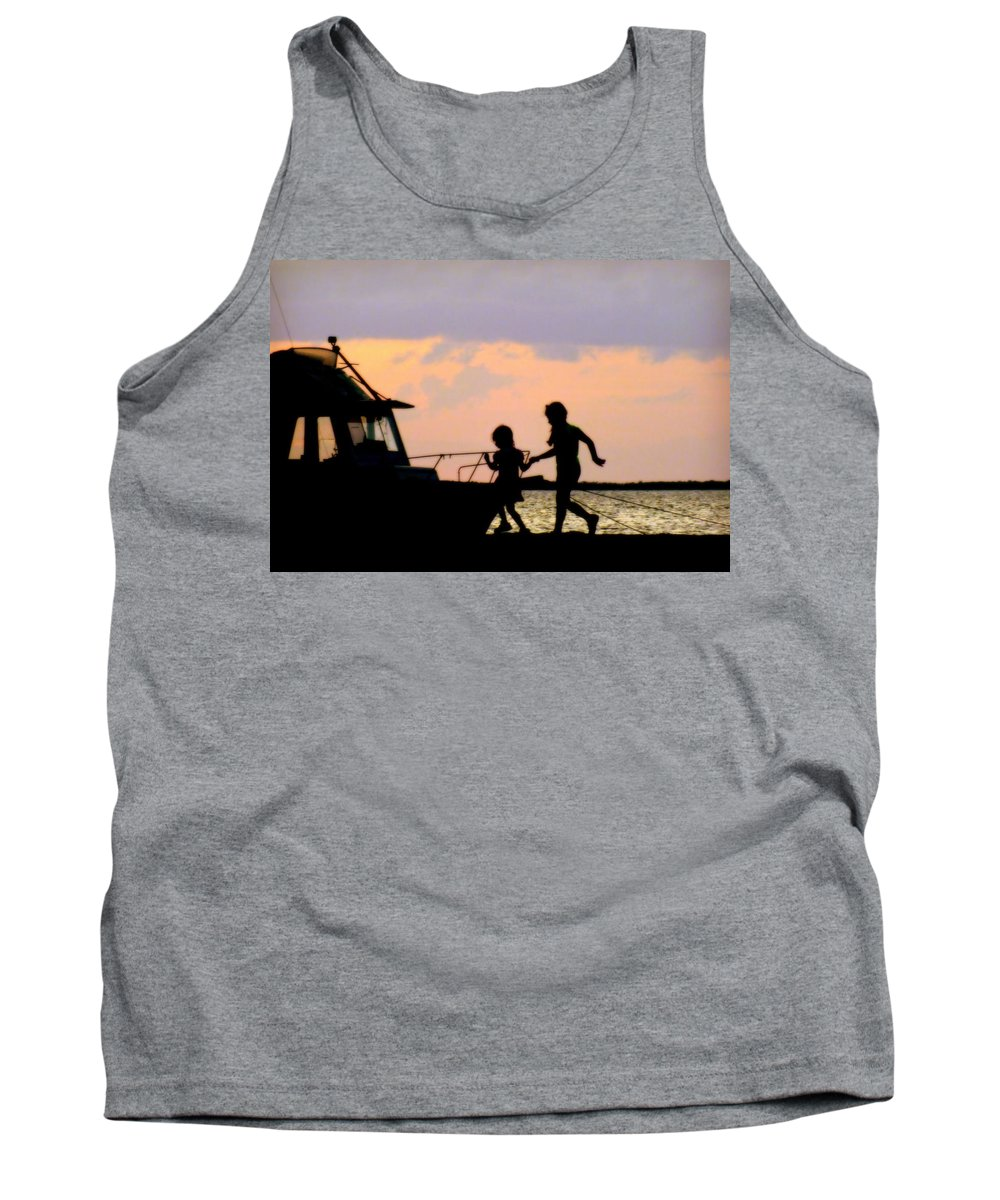 Sisters Tank Top featuring the photograph My Sister My Friend by Karen Wiles