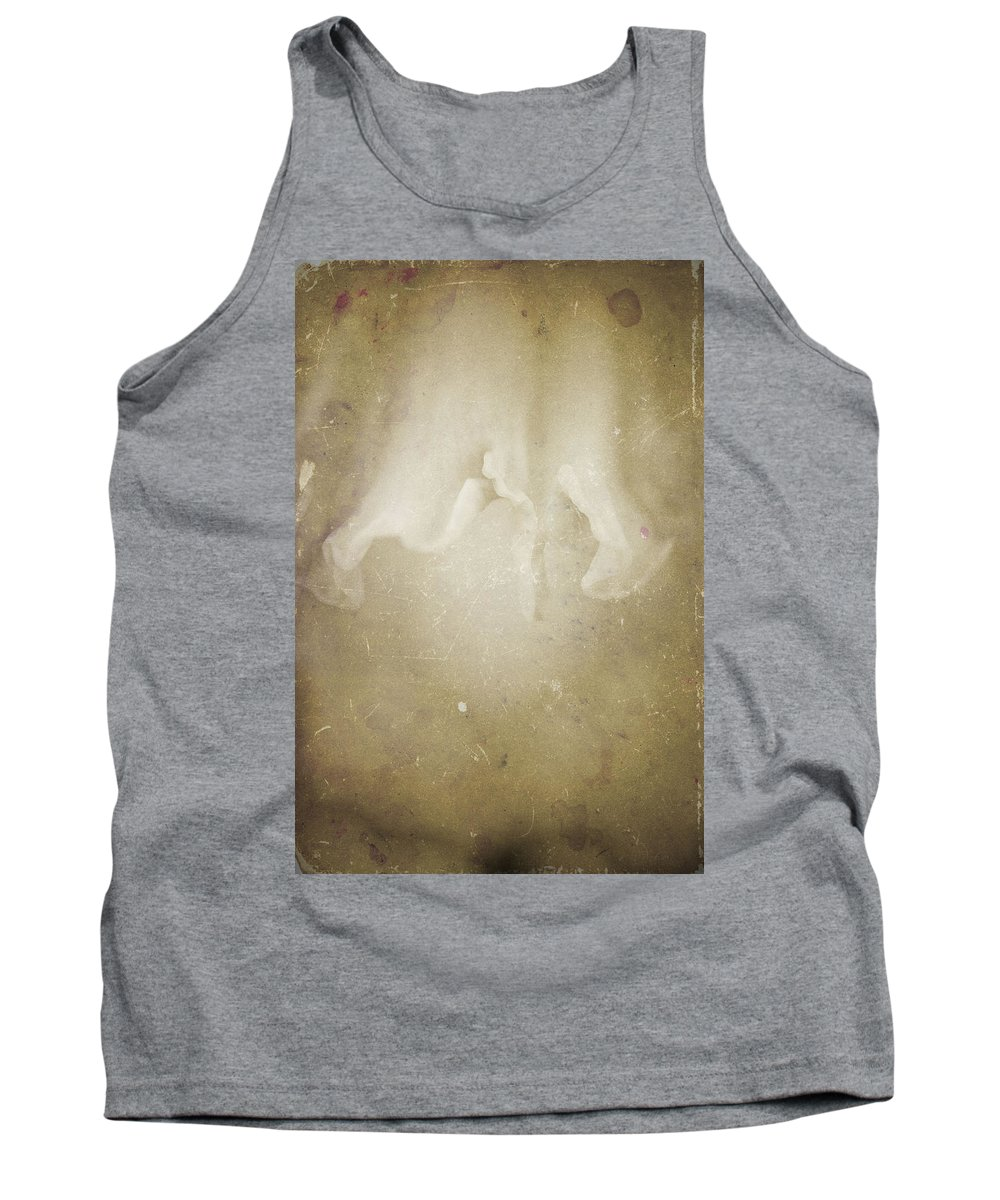 Flowers Tank Top featuring the photograph Nature's Sensual Form by Timothy Bischoff