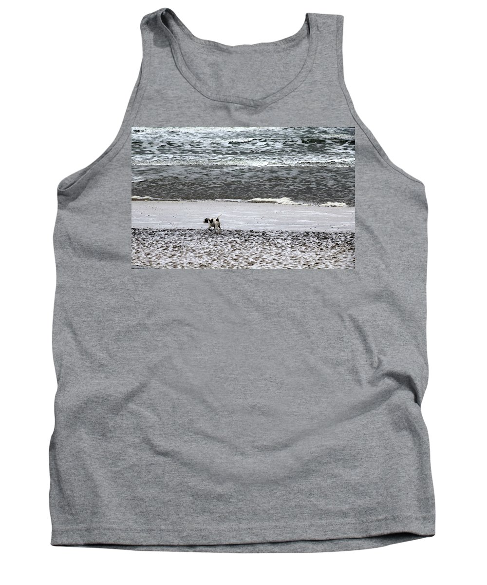Topsail Beach Tank Top featuring the photograph No Beginning  No End by Rand Wall