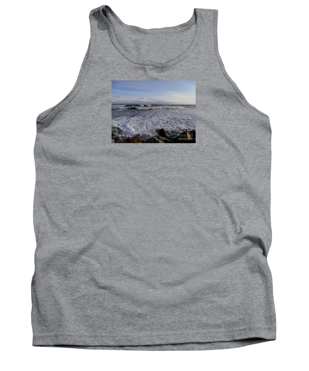 North Hampton Beach Tank Top featuring the photograph North Hampton New Hampshire Beach by Eunice Miller