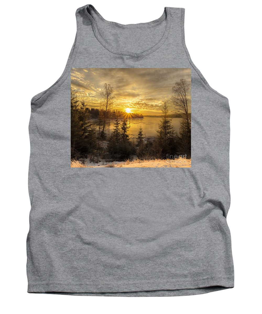 Landscape Tank Top featuring the photograph Norway Hedmark by Rose-Maries Pictures