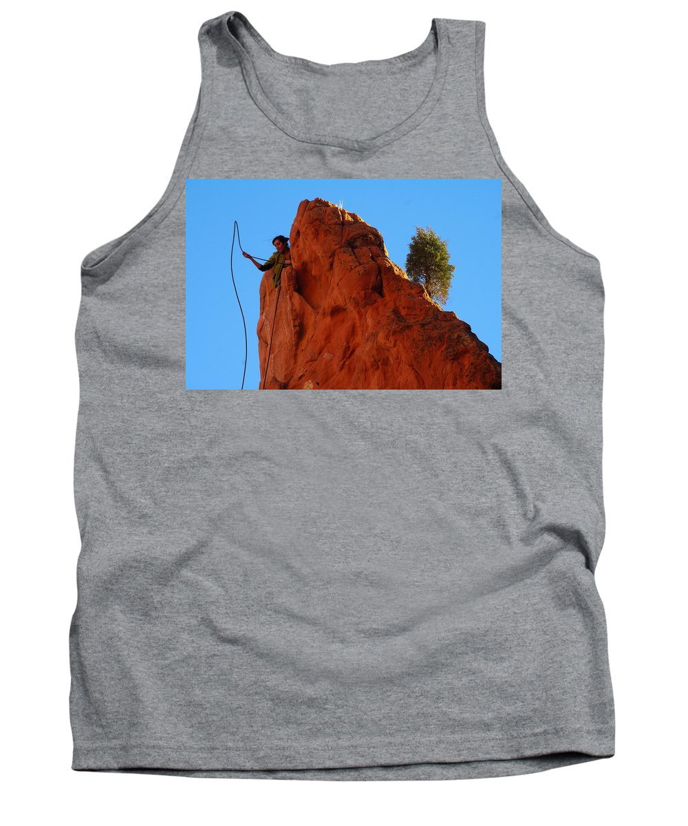 Colorado Photographs Tank Top featuring the photograph Not Alone by Gary Benson