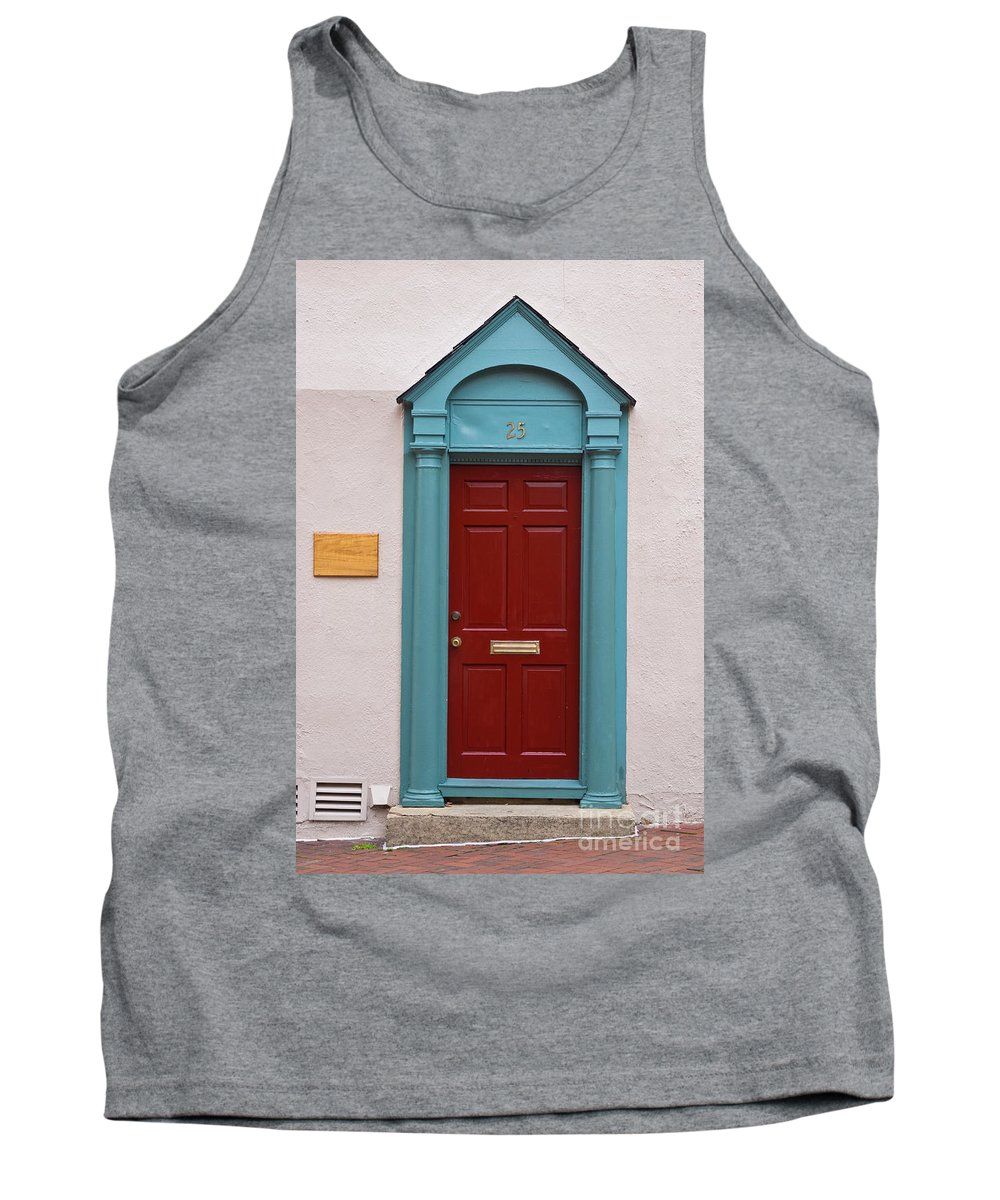 Door Tank Top featuring the photograph Number 25 by Benjamin Reed