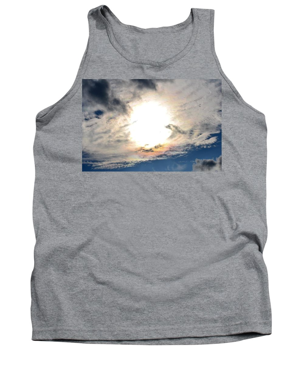 October Sky 2013 Tank Top featuring the photograph October Sky 2013 by Maria Urso