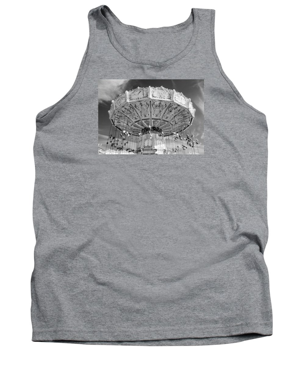 Munich Tank Top featuring the photograph Octoberfest Amusement by Jennifer Ann Henry