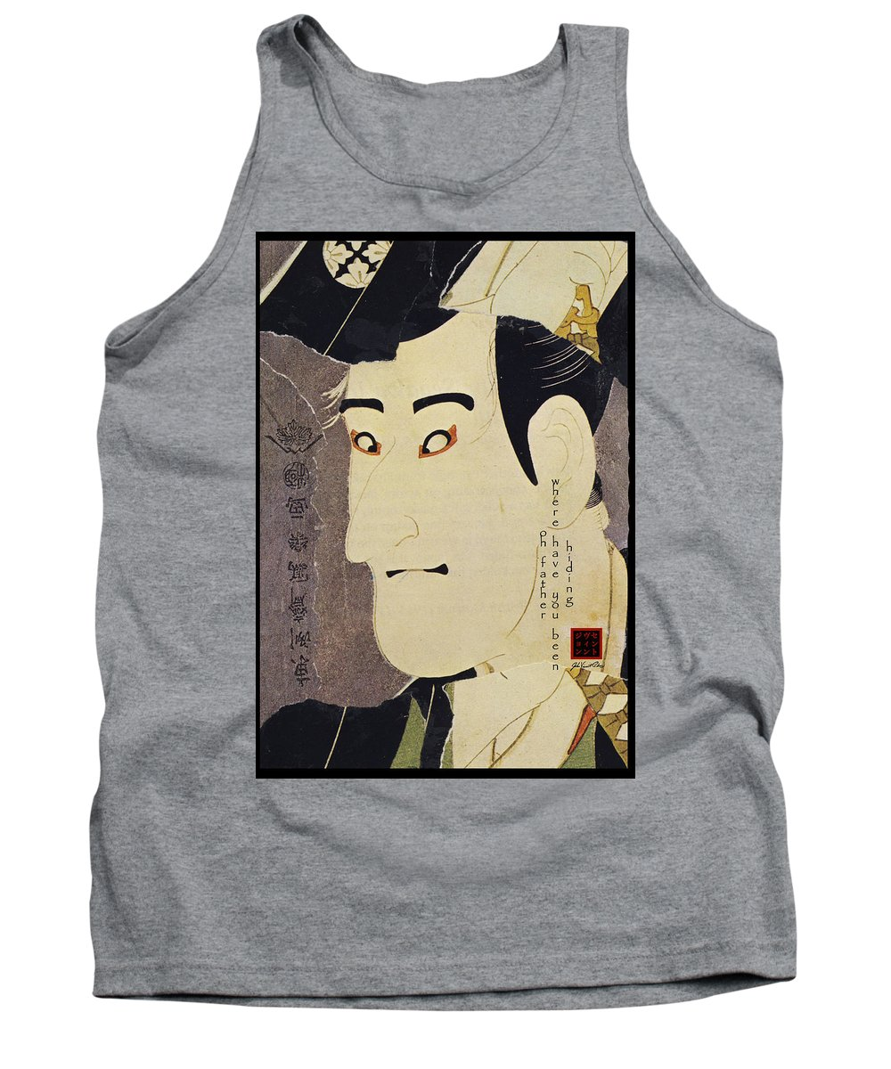 Collage Tank Top featuring the digital art Oh Father by John Vincent Palozzi