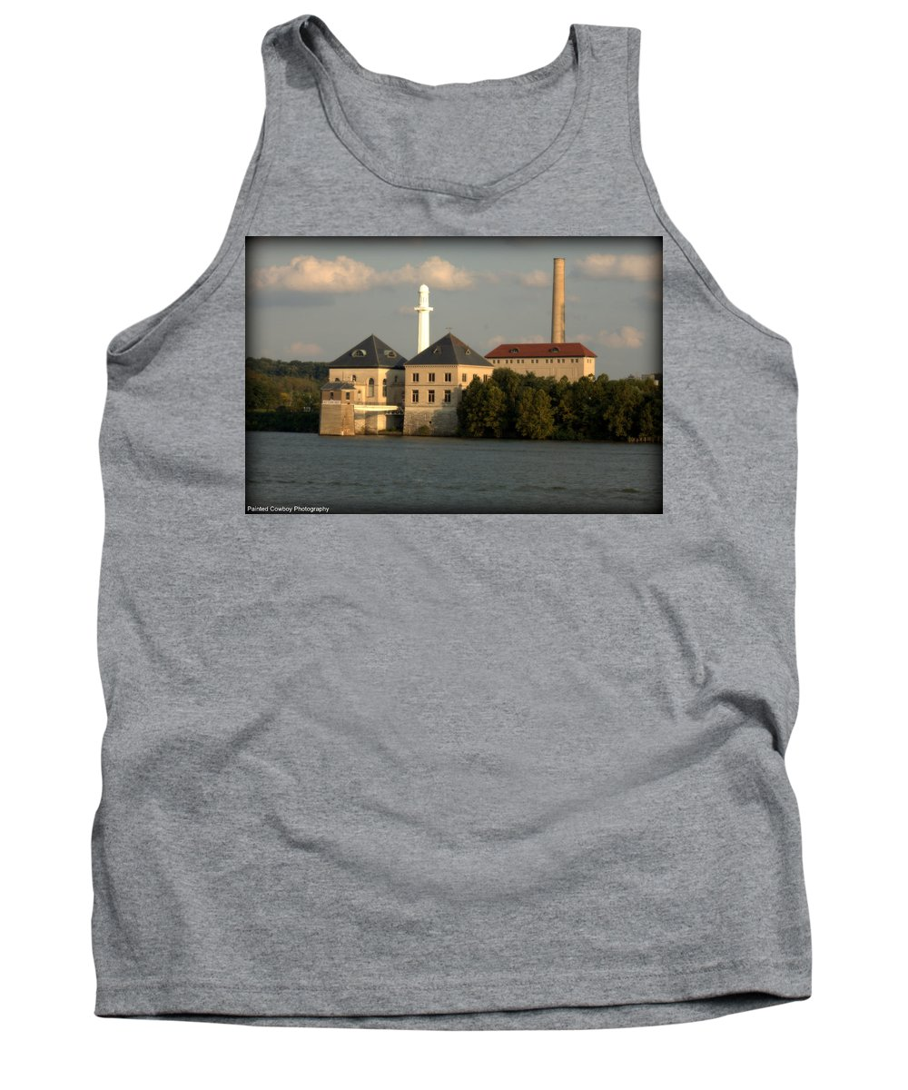 Building Tank Top featuring the photograph Ohio River Bank by Daniel Jakus