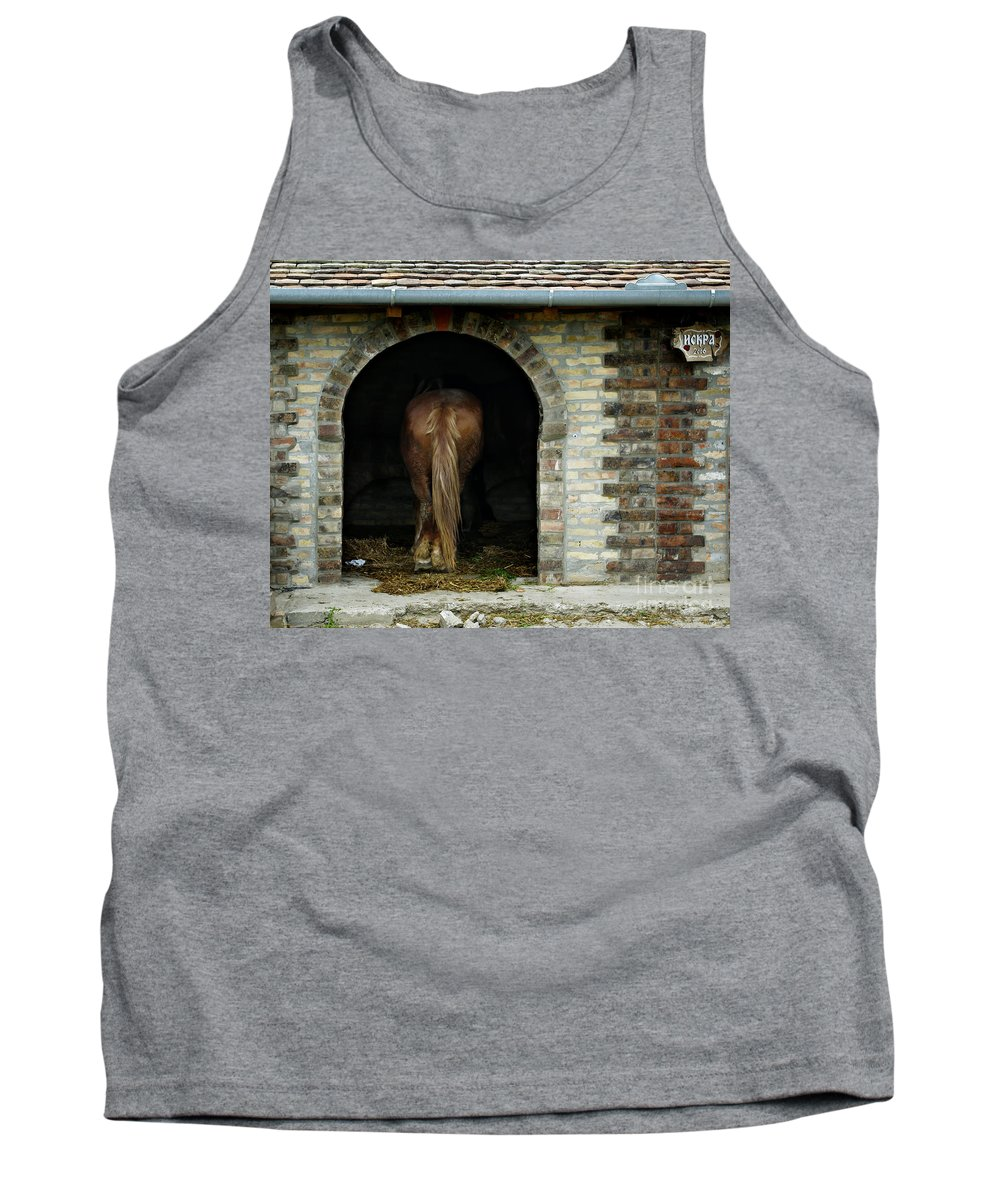 Horse Tank Top featuring the photograph Old Stable by Zoran Berdjan