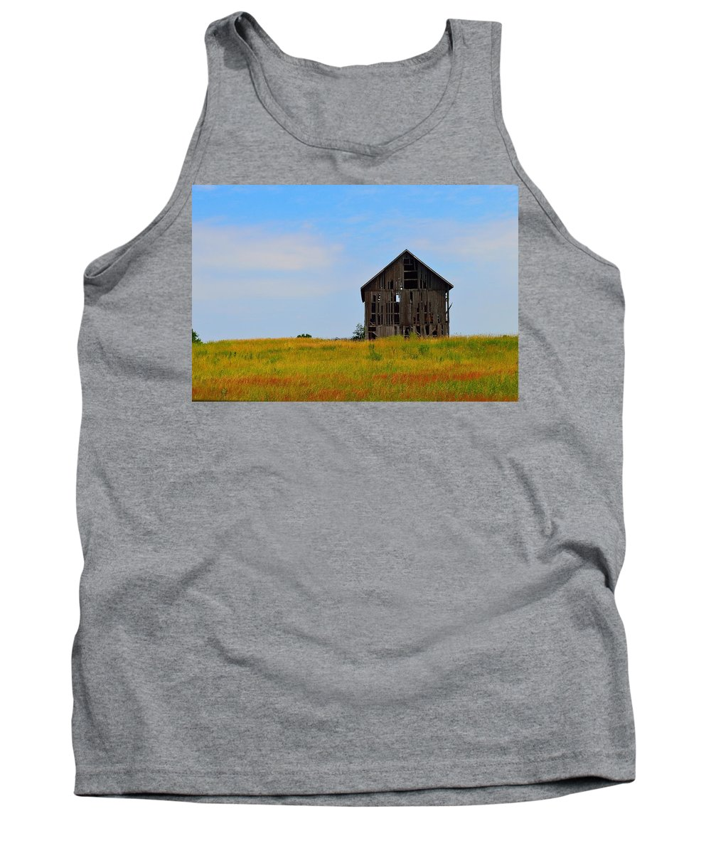 Old Tank Top featuring the photograph Old Timer by Ray Sheley