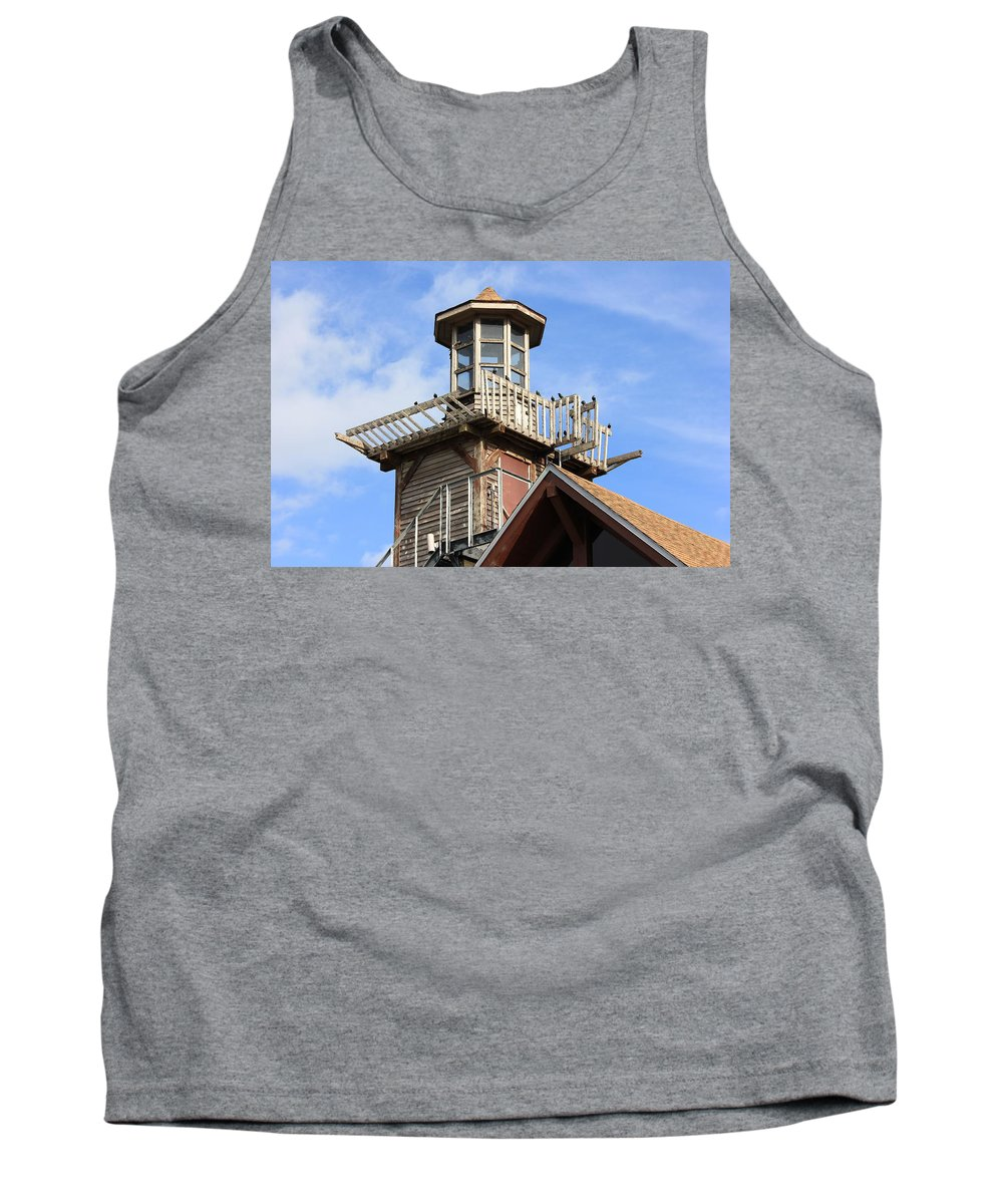 Skyscape Tank Top featuring the photograph Old Tower by Lorna Maza